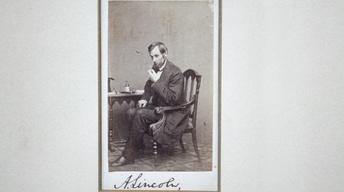 Appraisal: Abraham Lincoln Letters & Signed Photograph