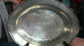 Appraisal: Late 17th-Century American Silver Basin