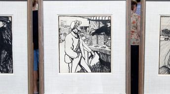 Appraisal: Jack B. Yeats Drawings, ca. 1900