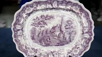 S12 Ep11: Appraisal: American Historical Staffordshire Platt
