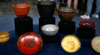 Appraisal: Gertrude & Otto Natzler Pottery