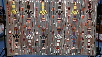 Appraisal: Navajo Yei Weaving, ca. 1930