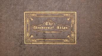 Appraisal: 1836 Burr Universal Atlas