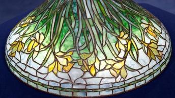 Appraisal: Tiffany Studios Daffodil Lamp Shade, ca. 1905