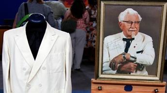 Appraisal: Col. H. Sanders Suit with Signed Photo