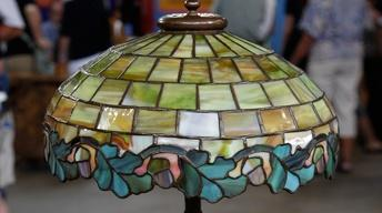 Appraisal: Duffner & Kimberly Lamp, ca. 1909