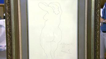 Appraisal: Picasso Etching, ca. 1956