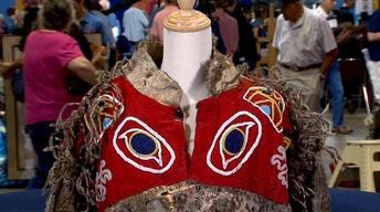 Web Appraisal: 19th Century Tlingit Seal Skin Tunic