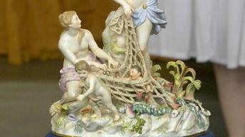 Appraisal: Meissen Porcelain Figurine, ca. 1875
