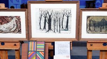 Appraisal: Sol LeWitt Woodcuts, ca. 1955