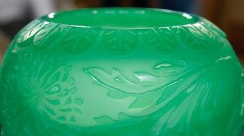 Appraisal: Steuben Acid-Cut Vase, ca. 1927