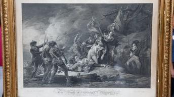 S17 Ep17: Appraisal: 1798 John Trumbull Print