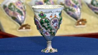 Web Appraisal: Swiss Enamel & Pearl Coffee Cups