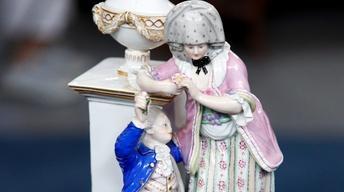Appraisal: Meissen Porcelain Figural Group, ca. 1878