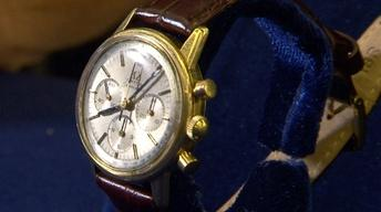Web Appraisal: Omega 14 Kt. Yellow Chronograph