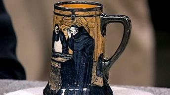 Appraisal: Royal Doulton Sterling Overlay Mug, ca. 1910