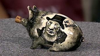 Appraisal: Wemyss Pottery Piglet, ca. 1900