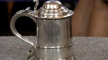 Appraisal: 1737 George II Silver Tankard