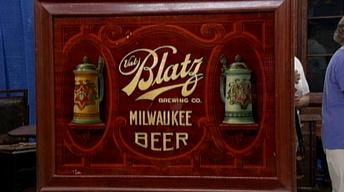 Appraisal: Beer Advertising Sign