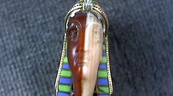 Appraisal: Egyptian Revival Pin, ca. 1920