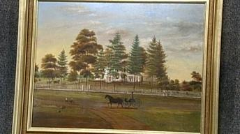 Appraisal: 1862 American School Painting