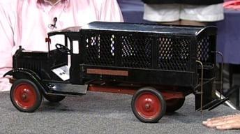 Appraisal: Keystone Toy Police Patrol Wagon