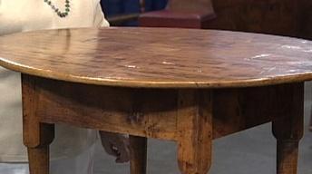 Appraisal: Queen Anne Maple Tea Table