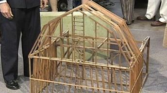 Appraisal: Salesman's Sample of a Barn