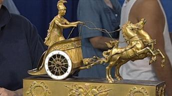 Appraisal: Classical French Chariot Clock, ca. 1810