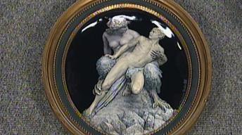 Appraisal: 1918 Ernst Bastanier Enamel Plaque