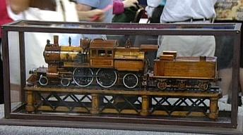 "Appraisal: Model ""Camelback"" Steam Engine"