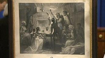 Appraisal: Emancipation Announcement Print