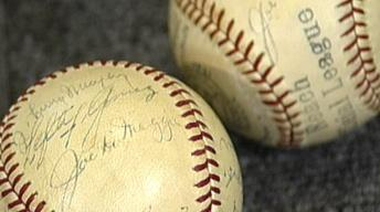 Appraisal: Baseball Memorabilia