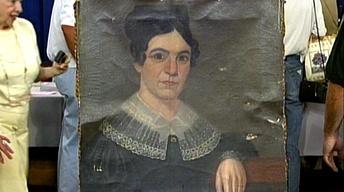 Appraisal: American School Portrait, ca. 1820