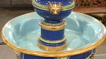 Appraisal: 1862 Minton Majolica Fountain