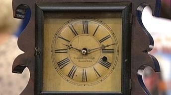 Appraisal: Wall Acorn Clock