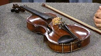 Appraisal: Violin and Pfretzschner Bow