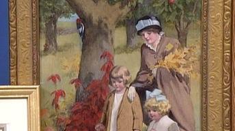 Appraisal: Bessie Gutmann Oil, ca. 1915