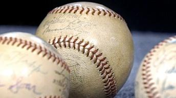 Appraisal: 1956 World Series Baseballs