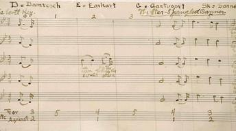 """S21 Ep28: Appraisal: 1917 """"Star Spangled Banner"""" Manuscript"""