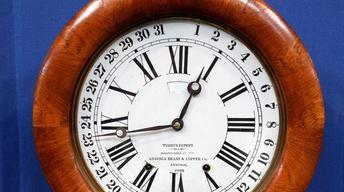 """Appraisal: """"Roman"""" Ansonia Clock, ca. 1874"""