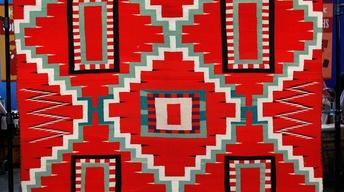Appraisal: 1880s Navajo Germantown Blanket