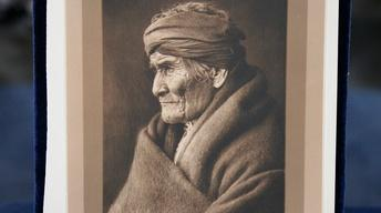 "Appraisal: Copy Photograph of Edward Curtis' ""Geronimo"""