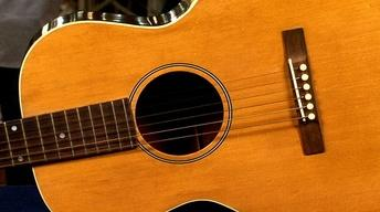 """Web Appraisal: Gibson """"Kel Kroyden"""" Brand Guitar, ca. 1935"""