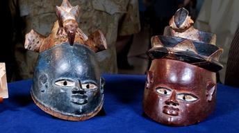 Web Appraisal: Two Gelede Society Yuraba Masks, ca.1900
