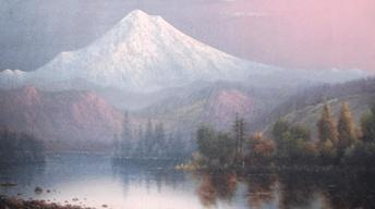 Web Appraisal: Eliza Barchus Oil Painting of Mt. Hood