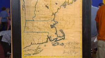 S17 Ep21: Appraisal: 1833 School Girl Map of New England