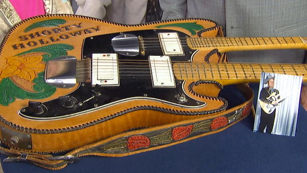 antiques roadshow appraisal double neck electric guitar mandolin twin cities pbs. Black Bedroom Furniture Sets. Home Design Ideas