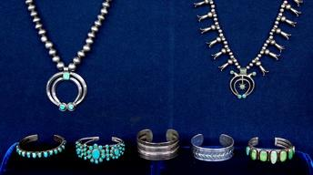 Appraisal: Navajo Jewelry Collection, ca. 1900