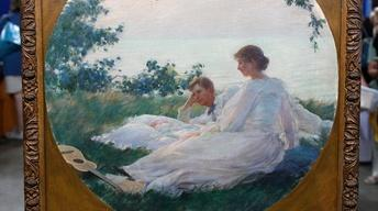 S13 Ep18: Appraisal: 1894 Charles Courtney Curran Portrait